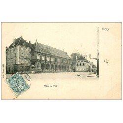 carte postale ancienne 70 GRAY. Hôtel de Ville 1905. Top Rare carte écrite à Raphaël Paynot, Sculpteur Modeleur à Paris