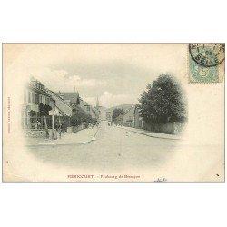 carte postale ancienne 70 HERICOURT. Faubourg de Besançon 1905