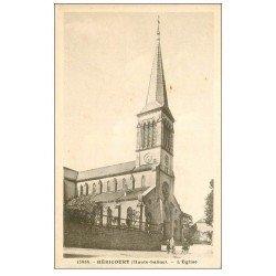 carte postale ancienne 70 HERICOURT. L'Eglise