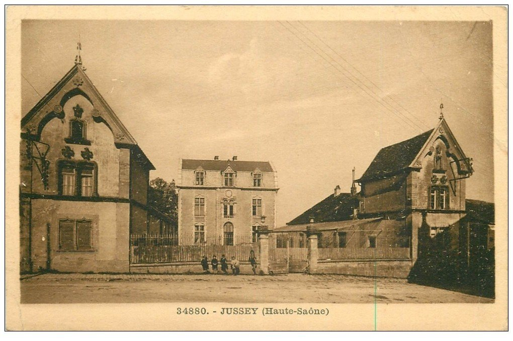 carte postale ancienne 70 JUSSEY 1948