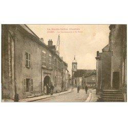 carte postale ancienne 70 JUSSEY. La Gendarmerie et la Poste