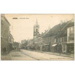 carte postale ancienne 70 LURE. La Grande Rue