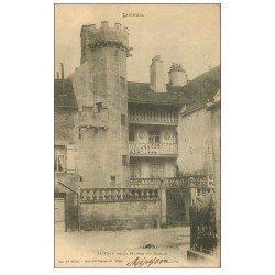 carte postale ancienne 70 LUXEUIL. La Tour de la Maison du Bailly 1903