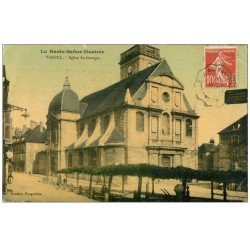 carte postale ancienne 70 VESOUL. Eglise Saint-Georges 1909