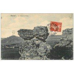 carte postale ancienne 70 VESOUL. Gamin sur le Sabot de Frotey 1907