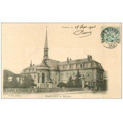 carte postale ancienne 70 VESOUL. Hôpital Civil et Militaire 1903