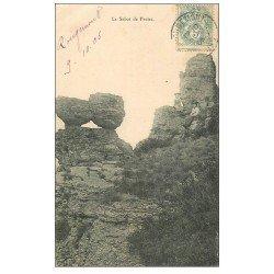 carte postale ancienne 70 VESOUL. Le Sabot de Frotez 1906 avec Elégantes assises