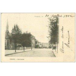 carte postale ancienne 70 VESOUL. Rue Carnot 1902