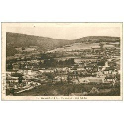 carte postale ancienne 71 ANOST. 1933