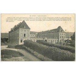 carte postale ancienne 71 AUTUN. Ecole de Cavalerie 1918