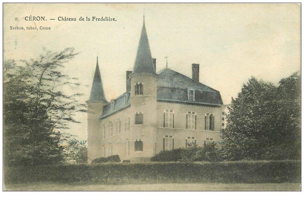 carte postale ancienne 71 CERON. Château de la Fredelière