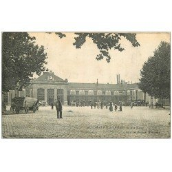carte postale ancienne 71 CHALON-SUR-SAONE. La Gare