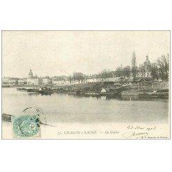 carte postale ancienne 71 CHALON-SUR-SAONE. La Genise 1903