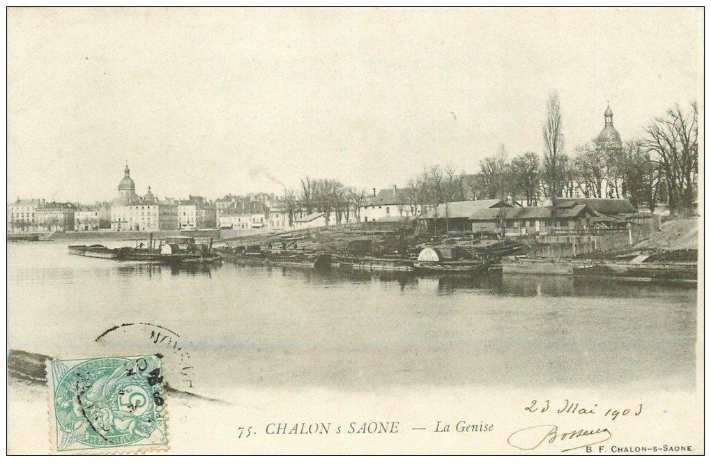 71 chalon sur saone la genise 1903 for Chalon sur saone 71