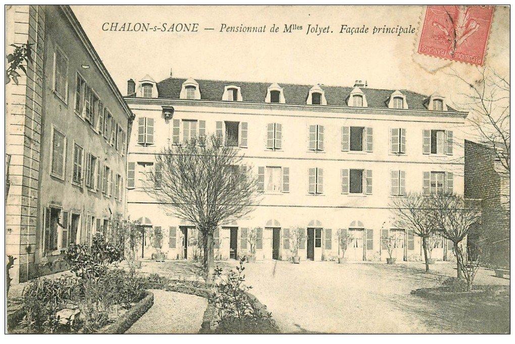 71 chalon sur saone pensionnat jolyet 1907 for Chalon sur saone 71