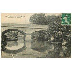 carte postale ancienne 71 CHAROLLES. Pont de la Grenette