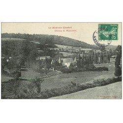 carte postale ancienne 71 CHATEAU DE MENESSAIRE 1910