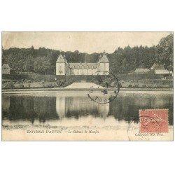 carte postale ancienne 71 CHATEAU DE MONTJEU 1906