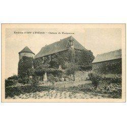 carte postale ancienne 71 CHATEAU DE MONTPEROUX