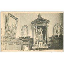 carte postale ancienne 71 LE CREUSOT. Chapelle Hôtel-Dieu 1907