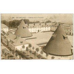 carte postale ancienne 71 LE CREUSOT. Château de la Verrerie