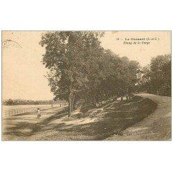 carte postale ancienne 71 LE CREUSOT. Etang de la Forge 1922