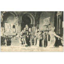 carte postale ancienne 71 MACON. Musée Lapidaire 1918