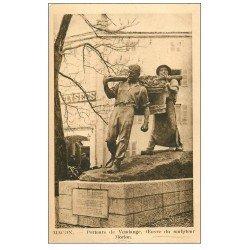 carte postale ancienne 71 MACON. Porteurs de Vendange par Morlon