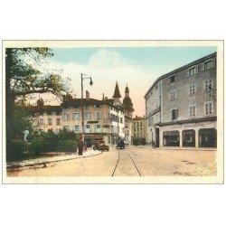 carte postale ancienne 71 MACON. Poste Place de la Barre