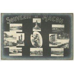 carte postale ancienne 71 MACON. Souvenir 1906