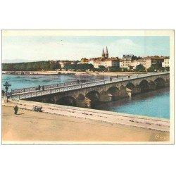 carte postale ancienne 71 MACON. Vue prise de Saint-Laurent
