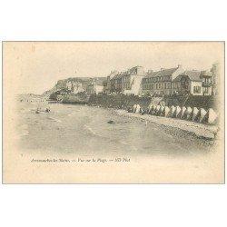 carte postale ancienne 14 ARROMANCHES. La Plage vers 1900