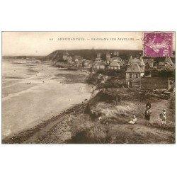 carte postale ancienne 14 ARROMANCHES. Panorama sur Asnelles 1933