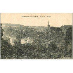 carte postale ancienne 68 BEAUCOURT. Cité du Temple