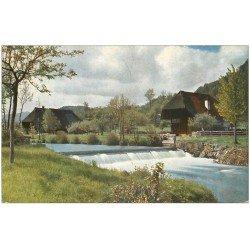 carte postale ancienne 68 COLMAR les environs. Une Maison Ferme 1915