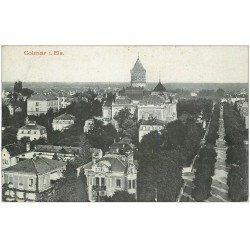 carte postale ancienne 68 COLMAR. Ecrite à Paris pour Maillard en 1911