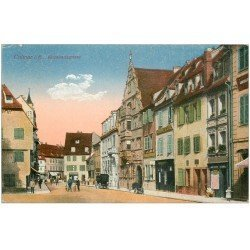 carte postale ancienne 68 COLMAR. Kopthausgasse 1919