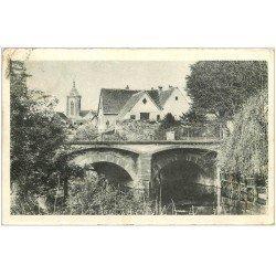carte postale ancienne 68 COLMAR. La Lauch 1939