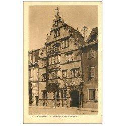 carte postale ancienne 68 COLMAR. Maison des Têtes
