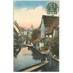 carte postale ancienne 68 COLMAR. Partie an der Lauch 1913