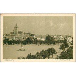 carte postale ancienne 68 COLMAR. Rappplatz