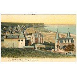 carte postale ancienne 14 ARROMANCHES. Vue générale 1912
