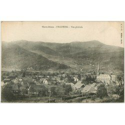 carte postale ancienne 68 FELLERING. Vue du Village 1917