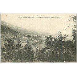 carte postale ancienne 68 GOLDBACH. Route de Hartmannswillerskopf et du Suddelkopf 1917