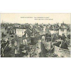 carte postale ancienne 02 COUCY-LE-CHATEAU. Vue du Pays