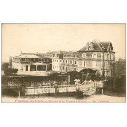 carte postale ancienne 14 ASNELLES. Préventorium Enfants des Chemins de Fer Français
