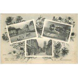 carte postale ancienne 68 MASSEVAUX. Multivues 1917