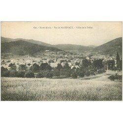 carte postale ancienne 68 MASSEVAUX. Vallée de la Doller 1917
