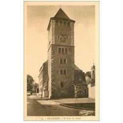 carte postale ancienne 68 MULHOUSE. La Tour du Diable
