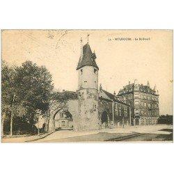 carte postale ancienne 68 MULHOUSE. Le Bollwerk 1925